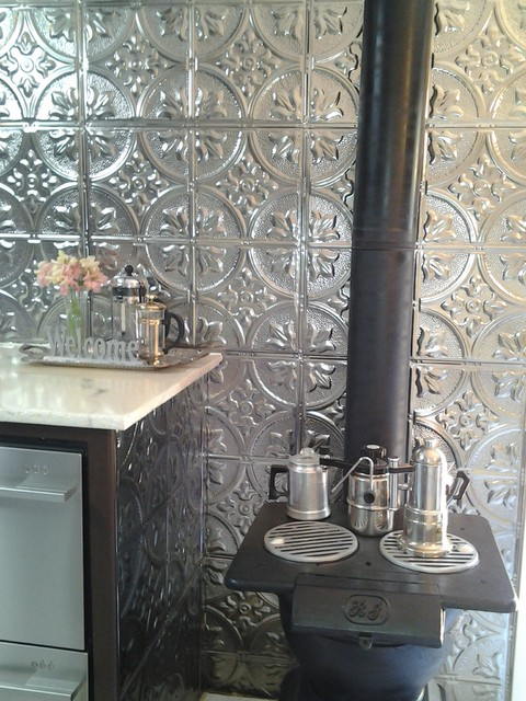 Bathrooms With Tin Ceilings Contemporary Bathroom