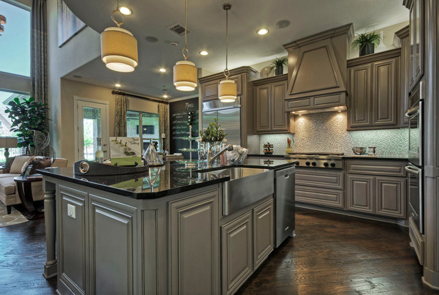 Toll Brothers Plano, TX Model - Contemporary - Kitchen ... on Model Kitchens  id=91166