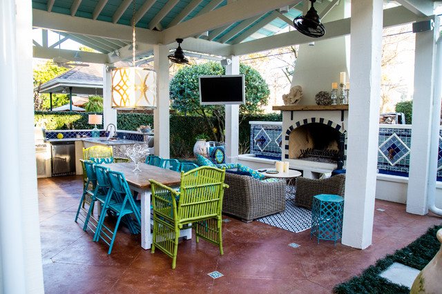 Mexican Inspired Old Metairie Residence on Mexican Patio Ideas  id=12148