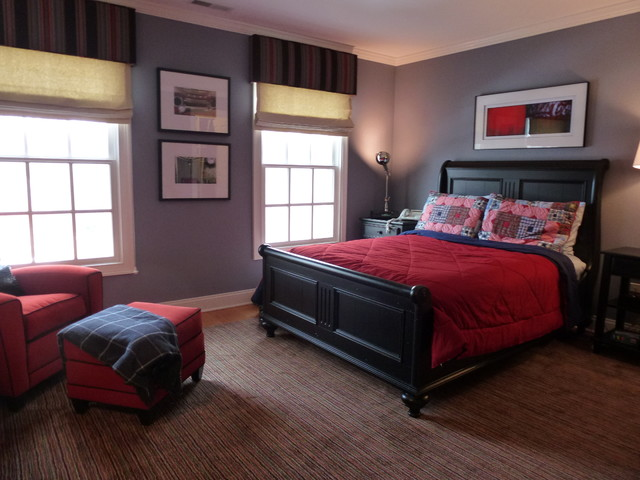 TEEN BOY'S BEDROOM - Traditional - Bedroom - Other - by ... on Bedroom Designs For Teenage Guys  id=14934