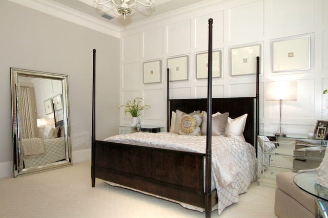Alessandra model in Miramonte at Grey Oak transitional-bedroom