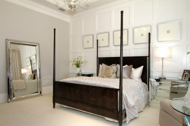 Alessandra model in Miramonte at Grey Oak transitional-bedroom