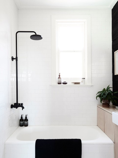 Bathroom At Swedish Summer House Scandinavian Bathroom