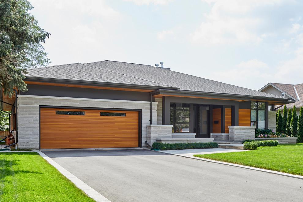 Modern Bungalow - Modern - Exterior - Toronto - by David ... on Modern House Siding Ideas  id=16020