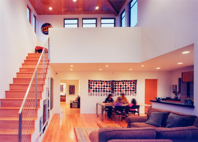 Pop Up House Contemporary Living Room Los Angeles By | Pop Design For Stairs | Ceiling | Living Room | Front Area | Inside | Granite Front Elevation