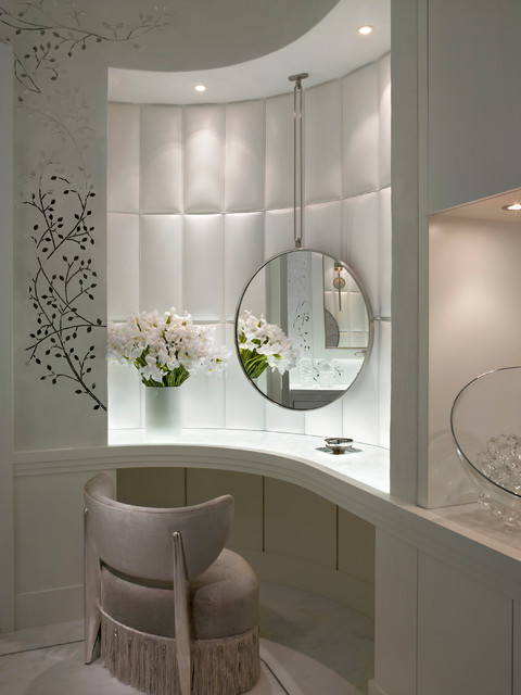 Ocean Penthouse Miami Beach - Contemporary - Powder Room ... on Make Up Room Design  id=60564