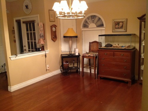 Turning A Living Room Into A Dining Room