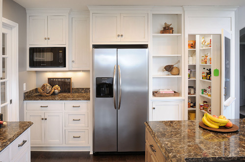 What Is The Upper Cabinet Depth For Microwave And Depth Of Microwave