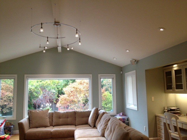 Living Room Led Lighting Transitional San Part 36