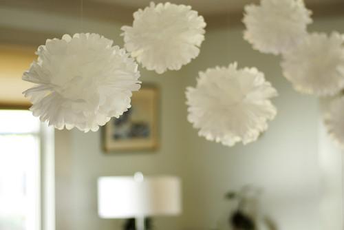 Homemade Paper Pom-Poms