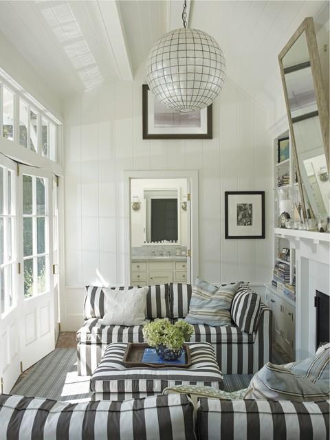Coastal Modern by Tim Clarke beach-style-living-room