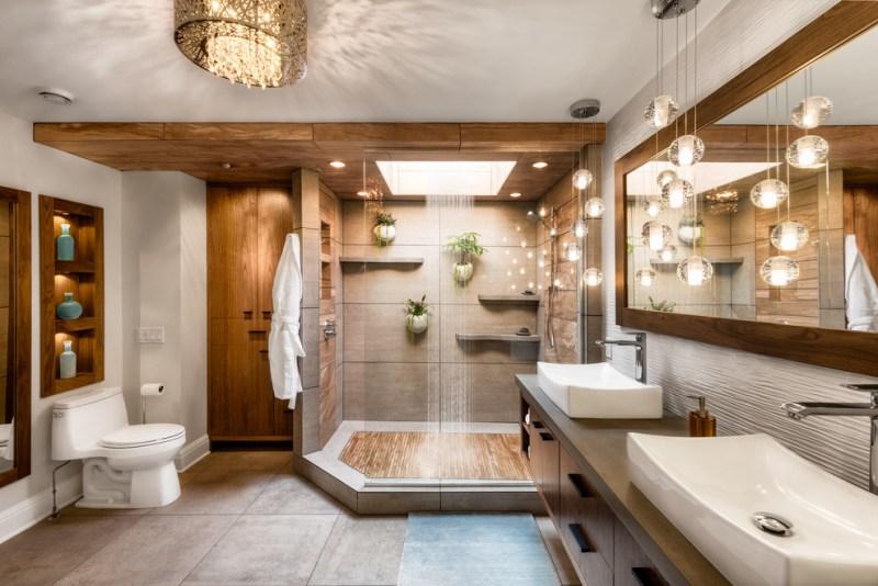 Oświetlenie łazienkowe Nad Lustrem Aranżacje Blog Villadecor