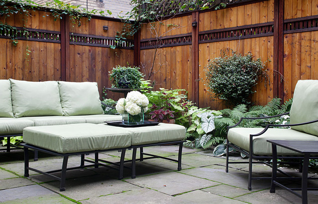 New York City Townhouse - Traditional - Patio - New York ... on Townhouse Patio Ideas  id=97172