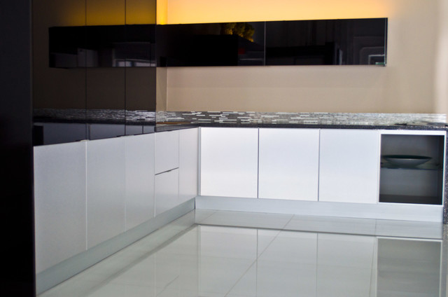 Aluminum Kitchen Cabinets Modern Miami By Aluniq