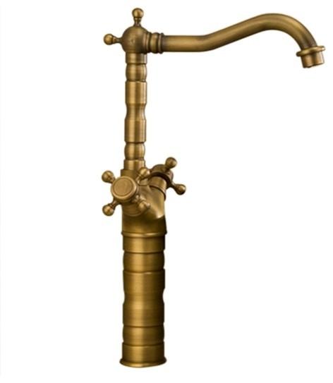 classic antique bathroom faucet
