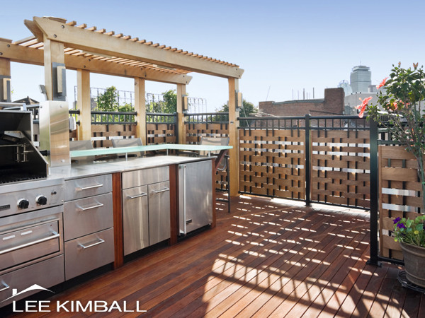 South End Roof Deck Contemporary Patio Boston By