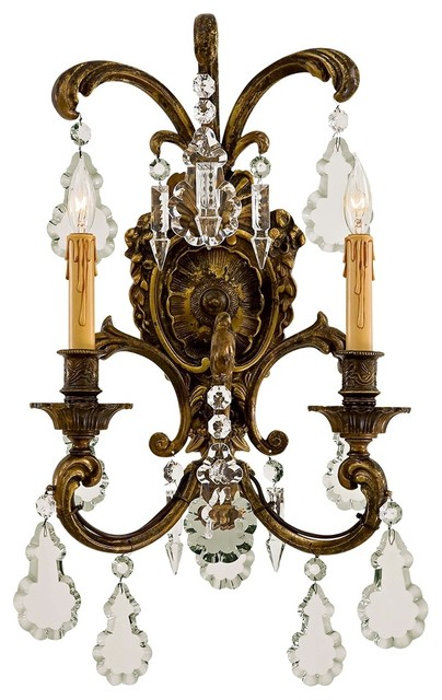 """Metropolitan Collection 24"""" High 2-Light Wall Sconce ... on Victorian Wall Sconces id=28507"""