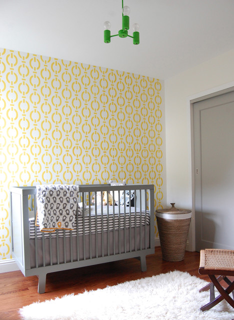 Vintage Modern Boy's Nursery contemporary-nursery