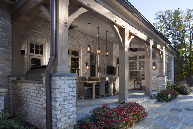 Loggia Traditional Porch Richmond By Colonial