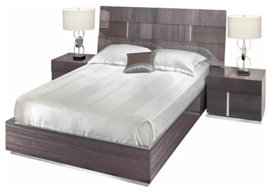 alf monte carlo 3-piece bedroom set - contemporary - bedroom