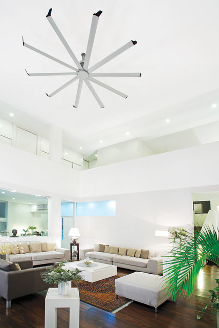 Isis Ceiling Fan Contemporary Living Room Other By Big Ass Fans