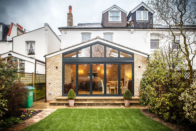 Pitched Roof Single-Storey Extension in Teddington ...