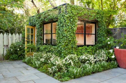SLLA: Portfolio: Parkside Garden modern-shed