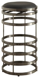 Orion Swivel Stainless Steel Bar Stool