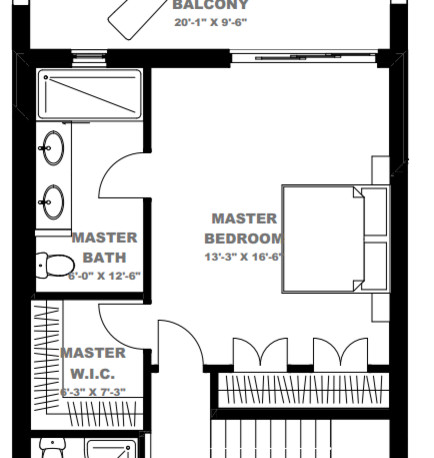 duplex besides bungalow garage with guest apartment      da moreover garage plan with apartment above      am besides  furthermore eye catching northwest house plan      jd. on master bedroom suite and bathroom designs