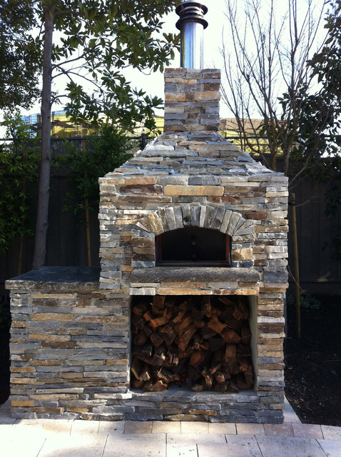 Outdoor Hip Roof Wood Fired Pizza Ovens - Traditional ... on Outdoor Patio With Pizza Oven  id=39337