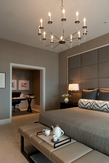 Delaware Place contemporary-bedroom