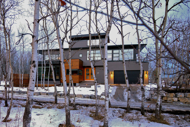 Post Hill House modern-exterior