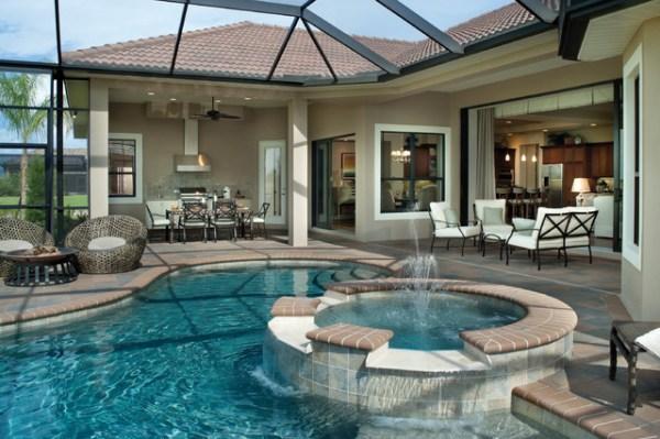Bermuda 1129 Mediterranean Pool Tampa by Arthur