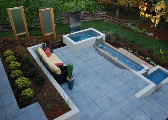 Cambridge Water Feature - Modern - Patio - Toronto - by ... on Water Feature Ideas For Patio id=20275