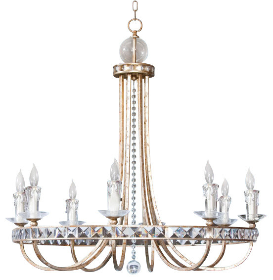 Af Lighting 7452 8h Candice Olson Aristocrat Chandelier Chandeliers