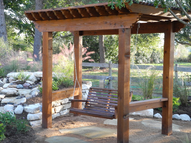 Pergolas And Patio Covers Eclectic Landscape Houston