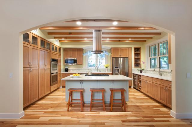 Westlake Craftsman Remodel traditional-kitchen
