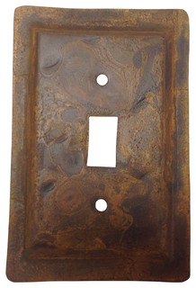 Quintana Roo Rustic Tin Switch Plate Amp Reviews Houzz