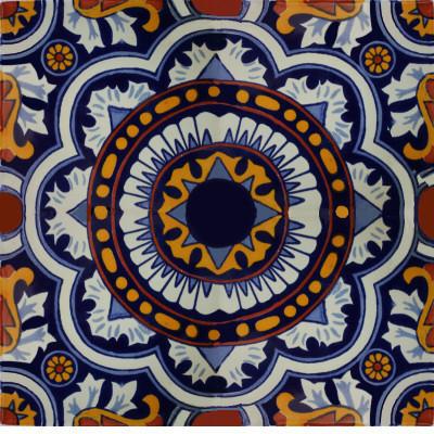 6x6 4 pcs full moroccan talavera mexican tile