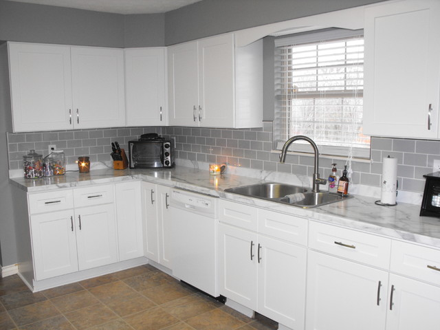 Laminate Countertop Installs Traditional Kitchen Other By