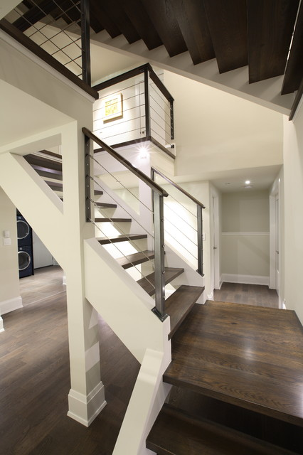 Best Builders Ltd Contemporary Staircase Vancouver