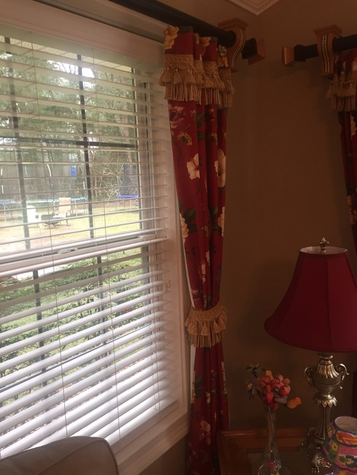 Hang Curtain Rods Different Heights In Same Room