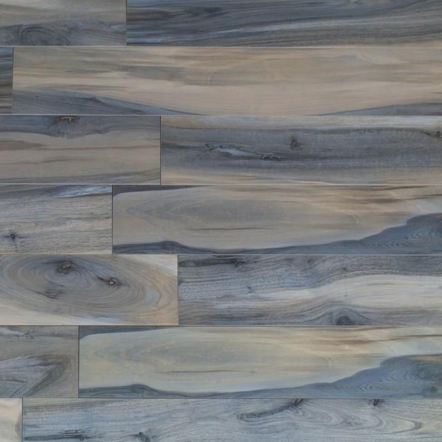 brazilian tiger blue 8x48 polished porcelain tile sample
