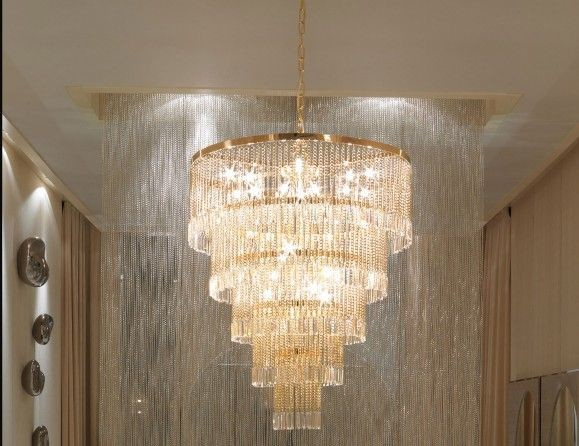 Murano Glass Designer Chandelier Modern Living Room