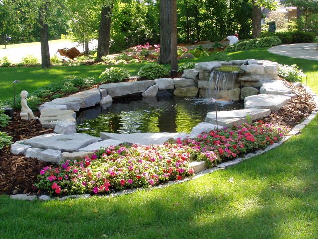 Waterfalls & ponds - Traditional - Landscape - Minneapolis ... on Landscape Pond Design id=47993