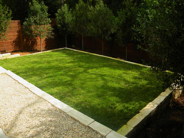 Small, minimal Backyard - Modern - Landscape - Austin - by ... on Modern Landscaping Ideas For Small Backyards  id=27455