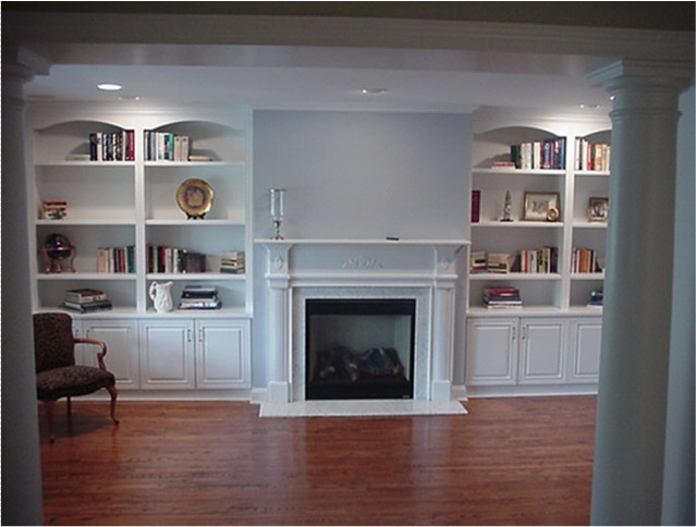Custom Wall Units - Traditional - Living Room - New York ... on Living Room Wall Units id=60090