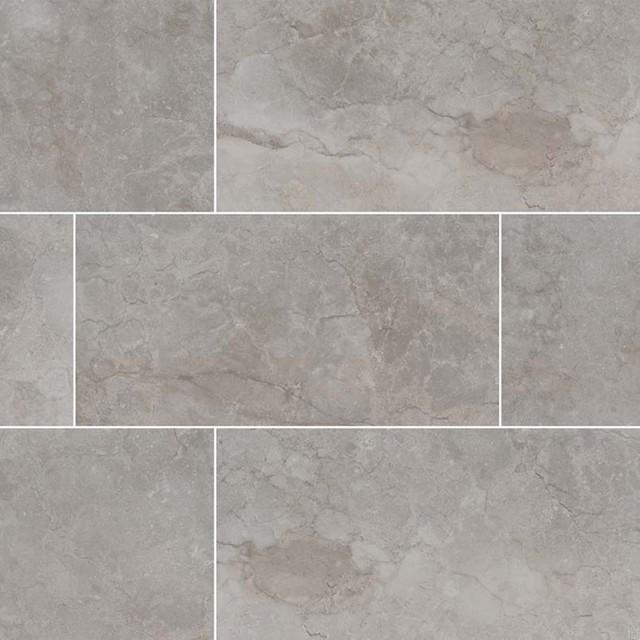 essentials ansello grey 12x24 matte ceramic tile sample