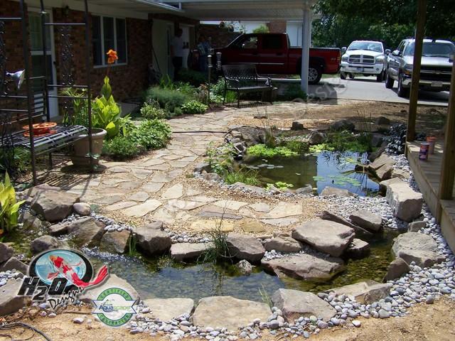 KOI Pond, Backyard Pond & Small Pond Ideas for your ... on Backyard Koi Pond Designs  id=78738