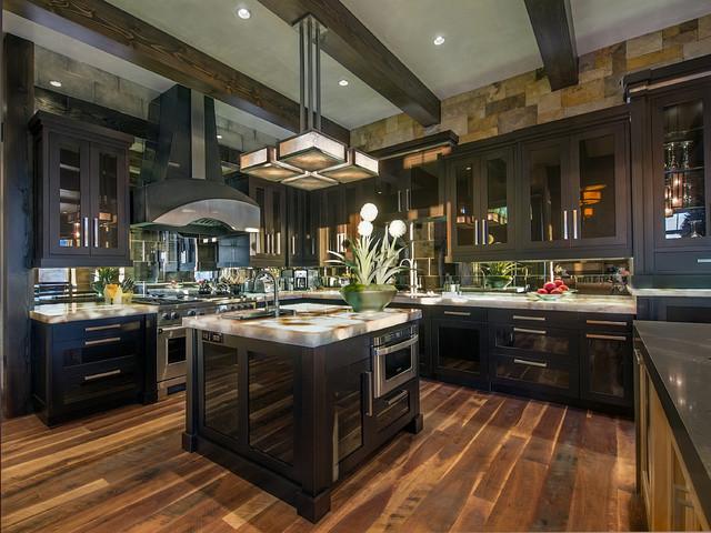 Modern Mountain Kitchen - Contemporary - Kitchen - Denver ...